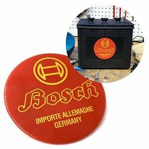 Bosch Battery Badge for VW Beetle Bus Ghia Okrasa Split Zwitter Porsche 356 911