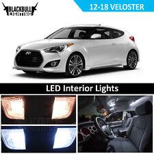 White LED Interior Light Replacement Kit for 2012-2017 Hyundai Veloster 8 bulbs