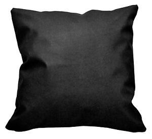 Pc501a Black Cross Faux Leather PVC Cushion Cover/Pillow Case*Custom Size*