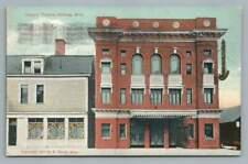 Healy's Theatre HIBBING Minnesota~Rare Antique Postcard 1911
