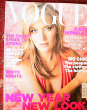 January Vogue Magazines in English