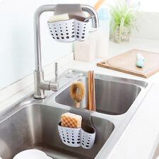Kitchen Sink Sponge Holder Bathroom Hanging Strainer Organizer Exquisite Rack HT