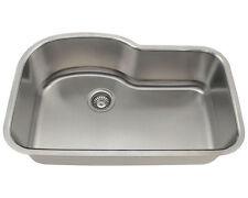 stainless steel undermount kitchen sinks acrylic undermount kitchen sinks   ebay  rh   ebay com
