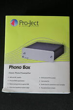 PRO-Ject Phono Box MM/MC PHONO PREAMPLIFICATORE un audiofilo Classico Modulo NM-cond