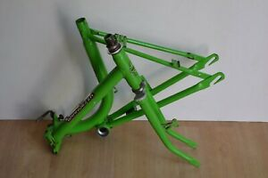 Vintage Grandezza Steel Folding Bike Frame & Fork Green