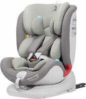 Apramo ALL STAGE CHILD CAR SEAT GROUP 0+/1/2/3 SLATE GREY 0 - 12 Years BN