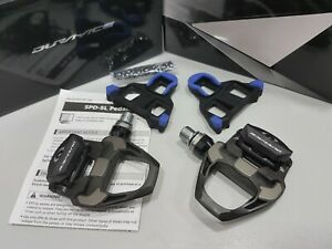 *Shimano Dura Ace PD-R9100 R9100 9100 Carbon Road SPD-SL Pedal w/ SM-SH12 Cleat