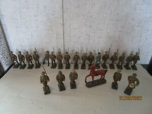 LINEOL Germany, 22 Pieces, WWI US Soldiers