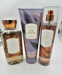 Bath and Body Works Sweet Whisky Collection