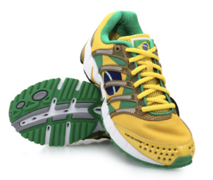 K-Swiss K-Ona Ironman Brazil Running Shoes Men's size 10 Limited Edition
