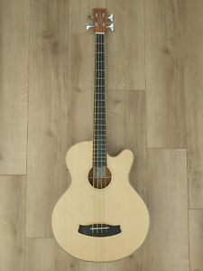 Tanglewood TW8 AB Winterleaf Electro Acoustic Bass Guitar - Natural