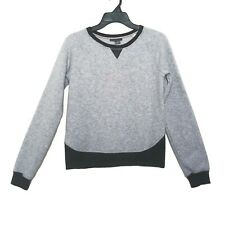 Vince Kids Subtle Gray Sparkle Sweatshirt Girls XL