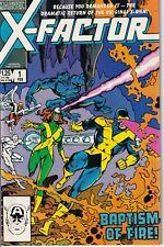 X-Factor # 1 (Feb 1985) plus Annual # 2 Very Fine X-Men