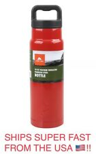 OZARK TRAIL CANTEEN 24 OUNCE DOUBLE WALL STAINLESS STEEL VACUUM INSULATED BOTTLE