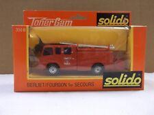 Solido Toner Gam Berliet/Fourgon 1er Secours 770 KE In Red No.350 B