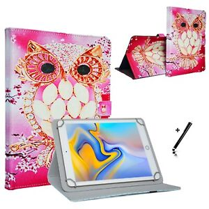 "Tablet Hülle Tasche Acepad A121 Etui 10.1"" Eule 2"