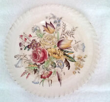 "Johnson Bros. Windsor Ware - FB&C - White Garden Bouquet - 6 1/4"" Plate"