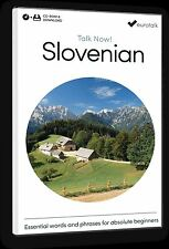 Eurotalk Talk Now Slovenian for Beginners - Download option and CD ROM
