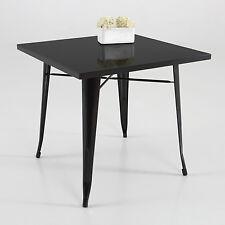 Mesa de caf', metal, color negro