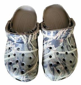 Crocs Realtree Clasic Clogs, Advantage Max-4 Casual Camo Shoes M 5/ W 7~☆~