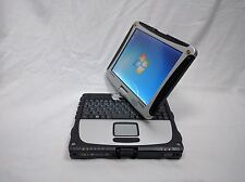 Fully Loaded Panasonic Toughbook Cf 19 Laptop Win 7 Pro 32 Bit  In Car Charger