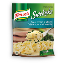 Knorr Sidekicks Sour Cream & Chives 12 x 120g  packages Canadian