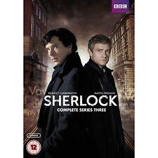 Sherlock Series 3 5051561038167 DVD Region 2 P H