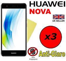3x Hq Matte Anti Glare Screen Protector Cover Film Guards For Huawei Nova