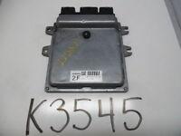 10 11 NISSAN ALTIMA COMPUTER BRAIN ENGINE CONTROL ECU ECM EBX MODULE K3545