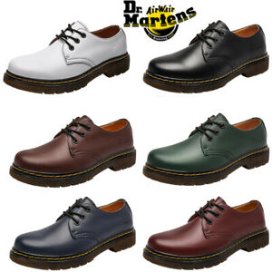 NEW Dr. Martens 1461 Smooth Shoes Classic 3 Eye Lace Up Unisex - 6 COLOUR SYD