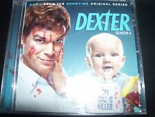 Dexter Season 4 Music From The TV Series Soundtrack CD - New