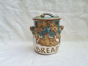 Lovely Canterbury Pottery Bread Bin
