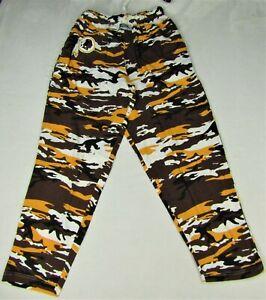 Washington Redskins Vintage NFL Zubaz Men's Camouflage Comfy Pants
