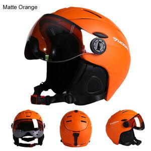 MOON Professional Men Integrally-molded Half-covered adults snowbaord Ski Helmet
