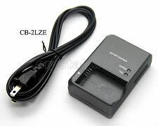 CB-2LZE Battery Charger for NB-7L Canon PowerShot G10 G11 G12 SX30 IS camera new