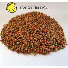 KOI Pellets 3mm Floating Pond Food GOLDFISH Fish Food ORFE CARP