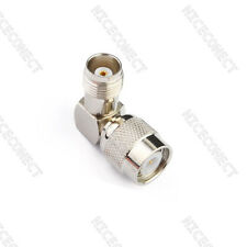 TNC Female to TNC Male Right Angle RF Adapter