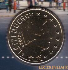 Luxembourg 2017 50 Centimes D'euro BU FDC Pièce Provenant du BU 5000 Exemplaires