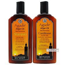 Agadir Argan Oil Daily Moisturizing Shampoo & Conditioner 12.4 Fl. Oz. / 366 ml