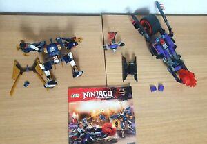 LEGO Killow gegen Samurai X - 70642 NINJAGO mit Bauanleitung Motorrad Suit