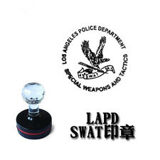 LAPS SWAT Los Angeles Police Department Badge Stamp Photosensitive Seal