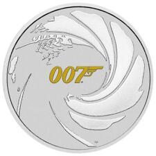 Perth Mint James Bond 007 Logo 1 oz  999 Silbermünze Auflage nur 20.000 Stück