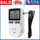 LCD Digital Plug in Thermostat Timer Switch Socket Temperature Controller G4F0