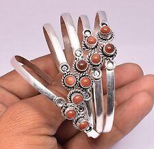 Sunstone Bracelet Cuff Bangle 925 Sterling Silver Plated 1psc Bracelet Jewelry