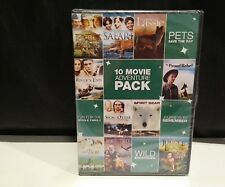 10 Movie Adventure Pack, Vol. 1 (DVD, 2011, 2-Disc Set) * NEW *