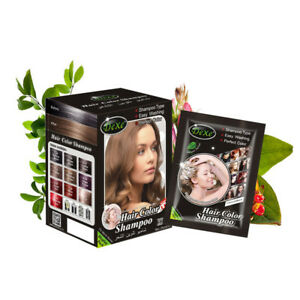 1 PCS DEXE Hair Color & Styling Hair Dye 5 mins Into colors herb natural