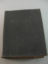 NEW STANDARD REFERENCE BIBLE 1936 BLUE RIBBON EDITION HERTEL CO SOFT COVER BOOK