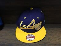 20754 - Los Angeles LAKERS NBA Basketball New era 9FIFTY SNAP BACK CAP ~ Hat