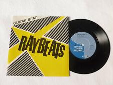 "THE RAYBEATS ~ GUITAR BEAT ~ EX+/NrM ~ 1981 UK SURF ROCK / RnR 7"" VINYL SINGLE"