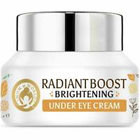 Mom & World  Radiant Boost Brightening Under Eye Cream 20 Plan Vitamin C B3 30g
